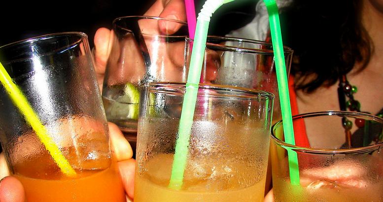 Happy hours dans un bar