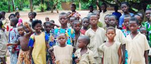 Des enfants africains