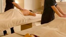 Massage dans une institut