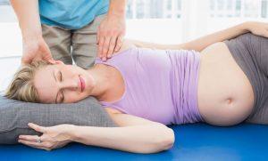 Ostéopathie sur femme enceinte