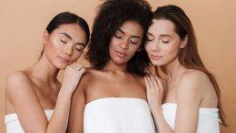 3 femmes en serviette