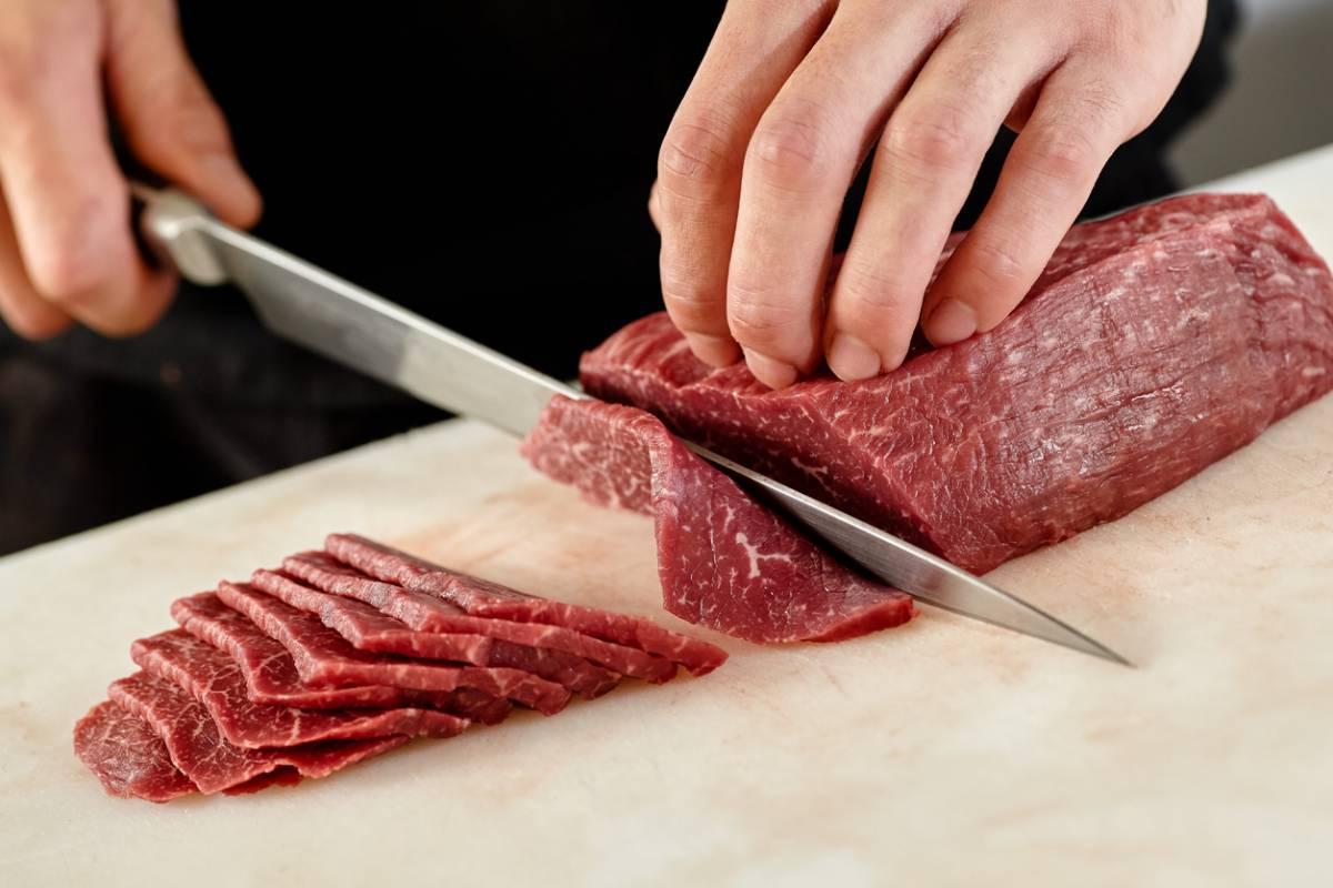 Découpage de viande